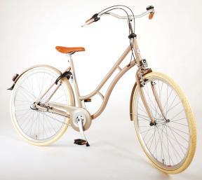 Volare Lifestyle damecykel - Kvinder - 48 centimeter - Sand - Shimano Nexus 3 gear