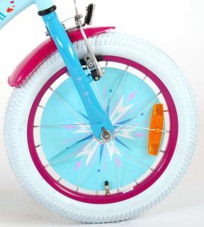 Disney Frozen 2 - Børnecykel - Piger - 16 tommer - Blå / lilla - 95% samlet