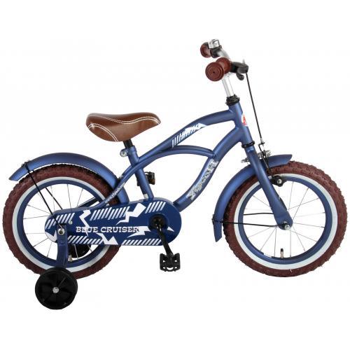 Volare Blue Cruiser Børnecykel - Drenge - 14 tommer - Blå - 95% samlet
