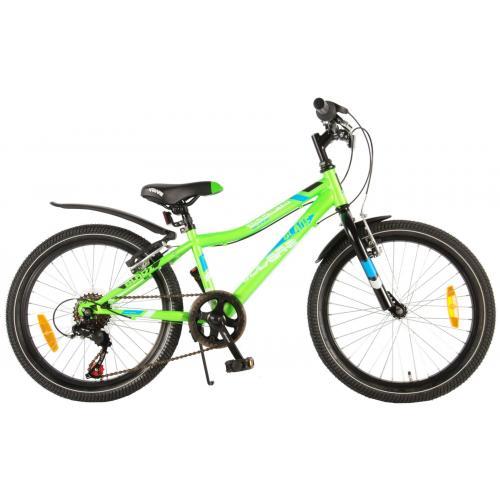 Volare Blade Børnecykel - Drenge - 20 tommer - Grøn - 95% samlet - Shimano 6 gear
