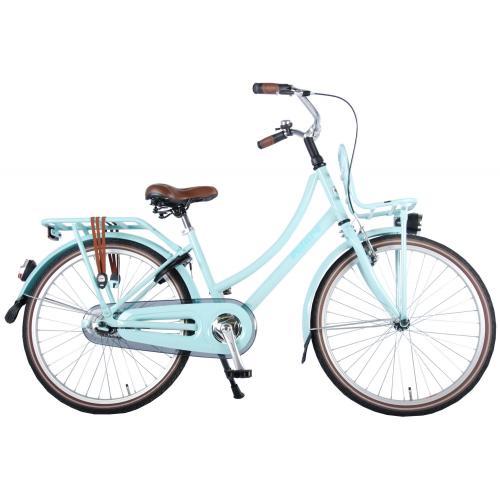 Volare Fremragende Børnecykel - Piger - 24 tommer - Mint blå - 95% samlet
