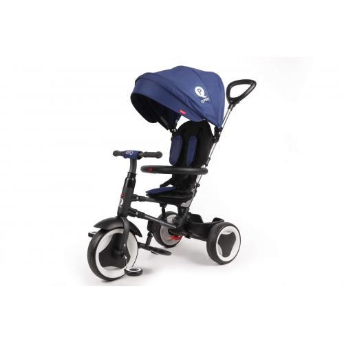 QPlay Tricycle Rito 3 in 1 - Drenge og piger - Blå - Deluxe