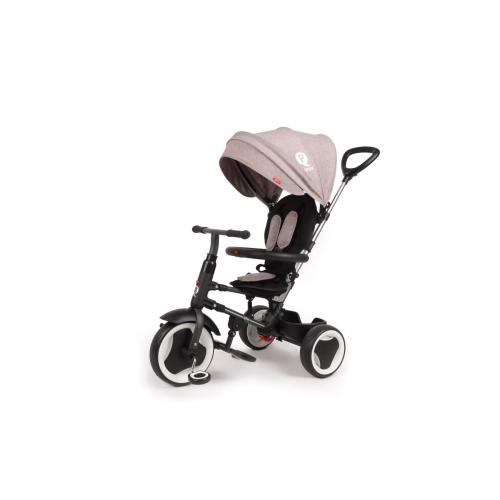 QPlay Tricycle Rito 3 in 1 - Drenge og piger - Gray Deluxe