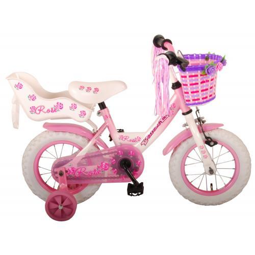 Volare Rose Børnecykel - Piger - 12 tommer - Pink - 95% samlet