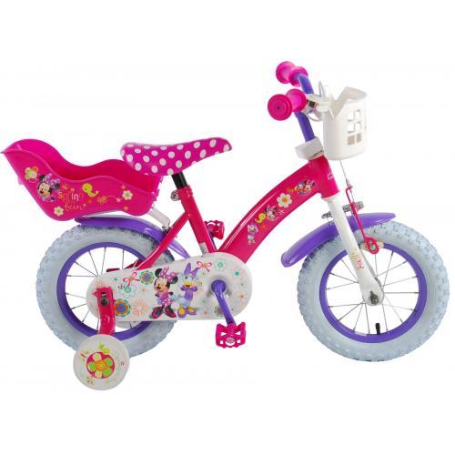 Disney Minnie Bow-Tique Børnecykel - Piger - 12 tommer - Pink White
