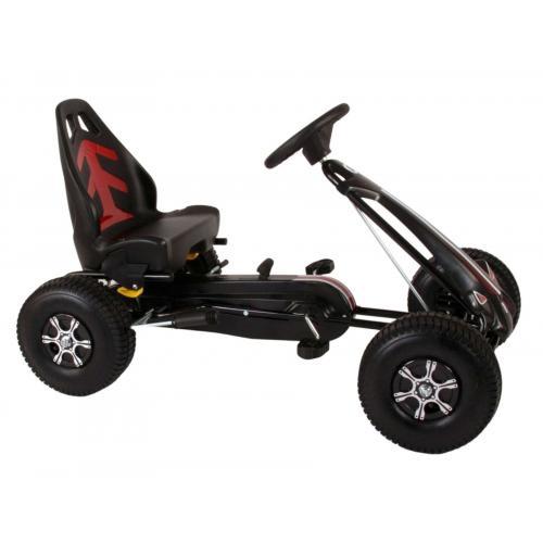 Racerbil Volare Go Kart - drenge - store - pneumatiske dæk