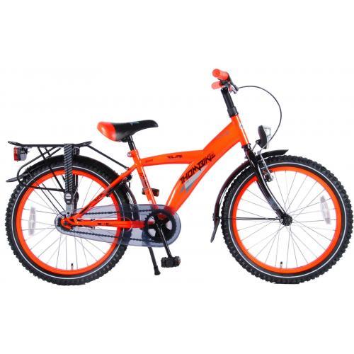 Volare Thombike City Børnecykel - Drenge - 20 tommer - Neon Orange - 95% samlet