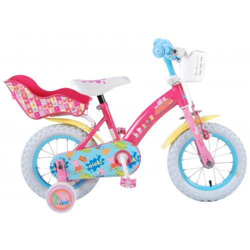 Peppa Pig Børnecykel - Piger - 12 tommer - Pink