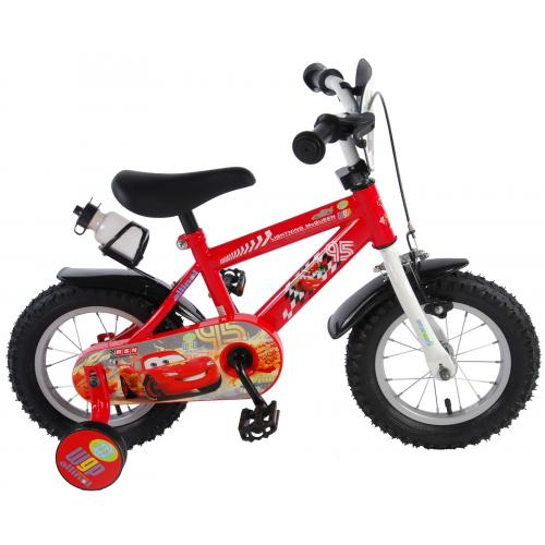 Disney Cars Børnecykel - Drenge - 12 tommer - Rød