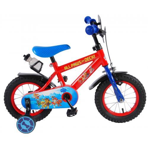 Paw Patrol Børnecykel - Drenge - 12 tommer - Rød / blå