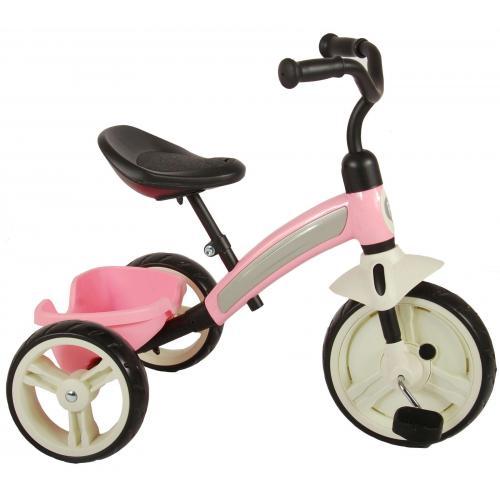QPlay Elite Trehjulet piger pink