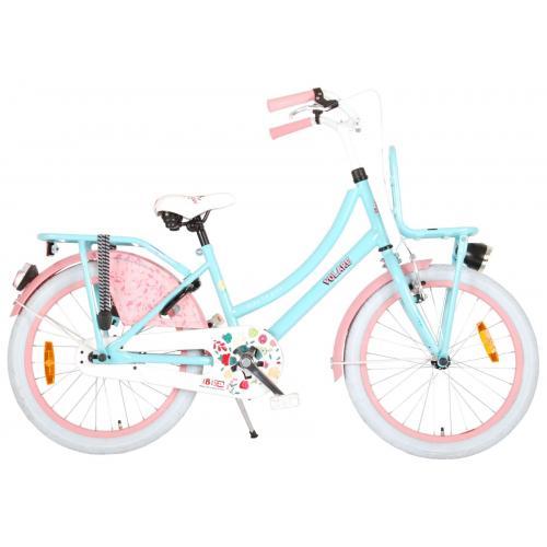 Volare Ibiza Børnecykel - Piger - 20 tommer - Blå / lyserød - 95% samlet
