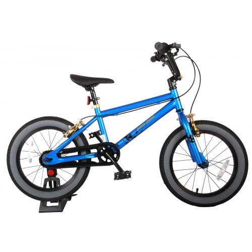 Volare Cool Rider Børnecykel - Drenge - 16 tommer - blå - to håndbremser - 95% samlet