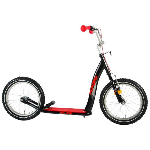 Volare scooter 16 tommer Sort Rød