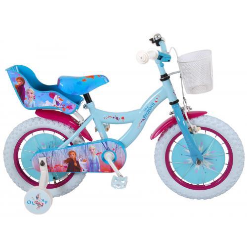 Disney Frozen 2 Børnecykel - Piger - 14 tommer - Blå / lilla - 95% samlet