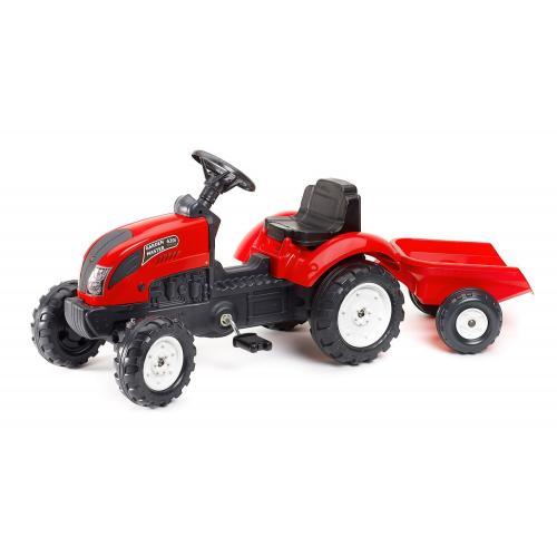 Falk Garden Master - Pedal Traktor - Rød