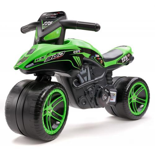 Falk Kawasaki Bud Racing Team Motor - Grøn - Drenge - Balancecykel