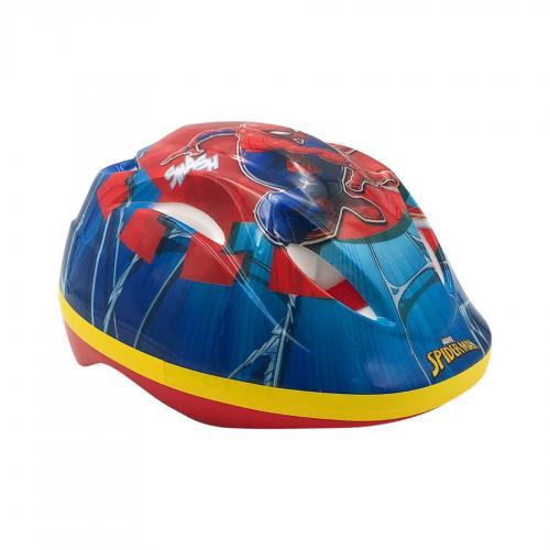 Marvel Spiderman Cykelhjelm - Blå rød - 51 - 55 cm