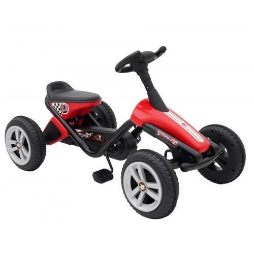 Volare Mini Go-Kart - Drenge og piger - Rød