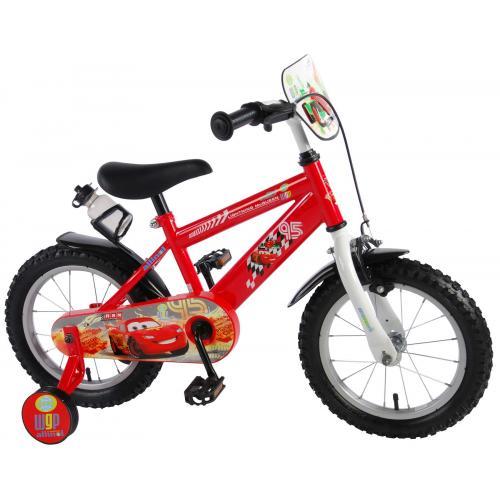 Disney Cars Børnecykel - Drenge - 14 tommer - Rød