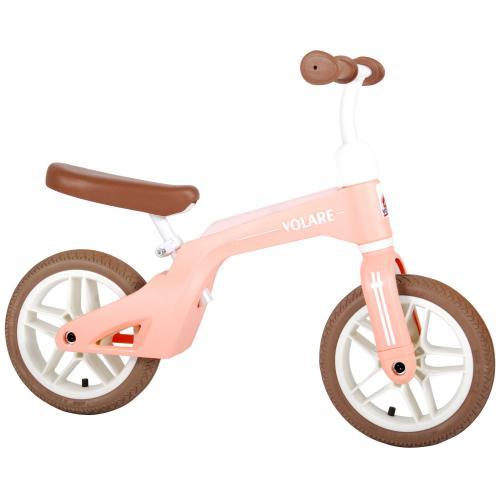 Volare Balance Bike - Drenge og piger - 10 tommer - Lyserød
