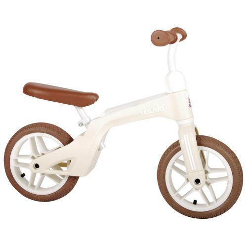 Volare Balance Bike - Drenge og piger - 10 tommer - Creme