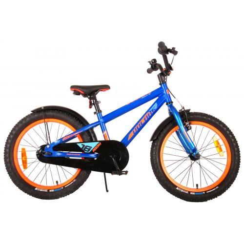 Volare Rocky Børnecykel - 18 tommer - blå - 95% samlet - Prime Collection
