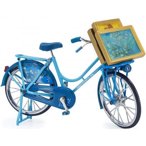 Fiets - Amandelbloesem - Van Gogh - Blauw