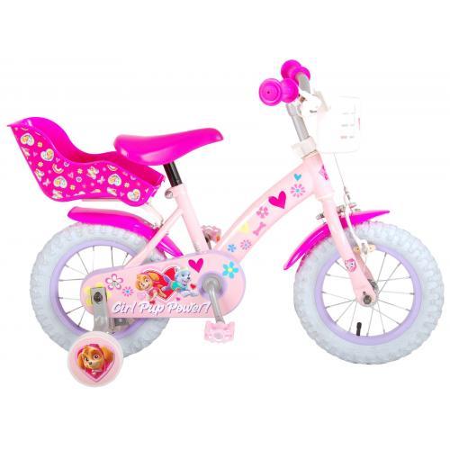 Paw Patrol Børnecykel - Piger - 12 tommer - Pink