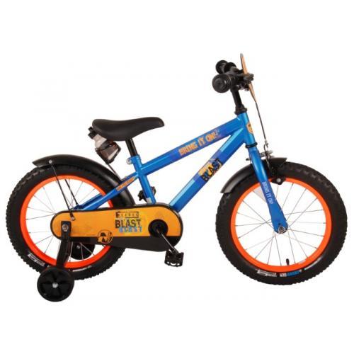 NERF Børnecykel - Drenge - 16 tommer - Satinblå