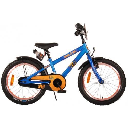 NERF Børnecykel - Drenge - 18 tommer - Satinblå