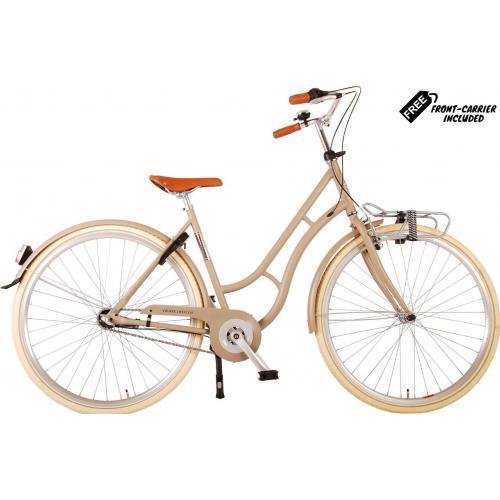 Volare Lifestyle Damecykel - Kvinder - 43 centimeter - Sand - Shimano Nexus 3 gear