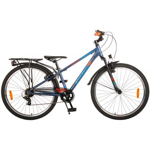 Volare Cross børnecykel - Drenge - 26 tommer - blågrøn - 7 gear - Prime Collection