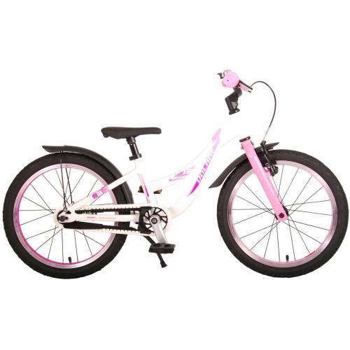 Volare Glamour Børnecykel - Piger - 16 tommer - perle lyserød - Prime Collection