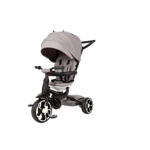 Qplay Tricycle Prime 6 in 1 - Drenge og piger -  Grå