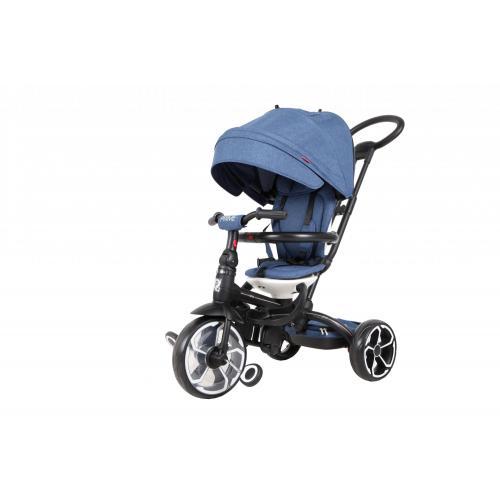 Qplay Tricycle Prime 6 in 1 Drenge og piger - Blå