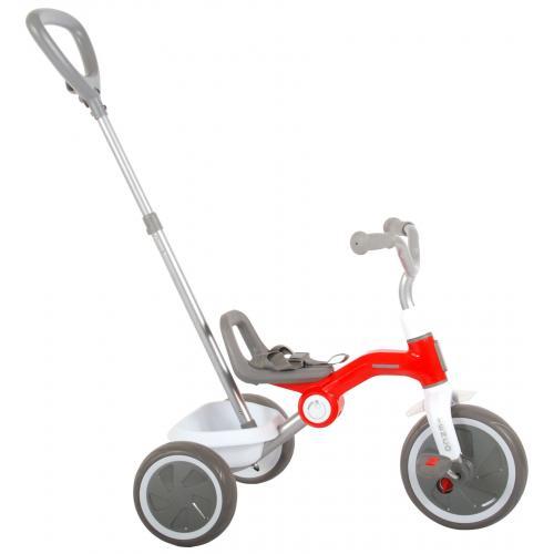QPlay trehjulet cykel Tenco - drenge og piger - rød