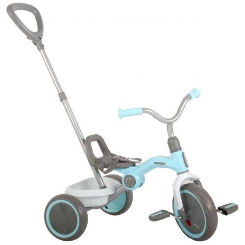 QPlay trehjulet cykel Tenco - drenge og piger - pastelblå