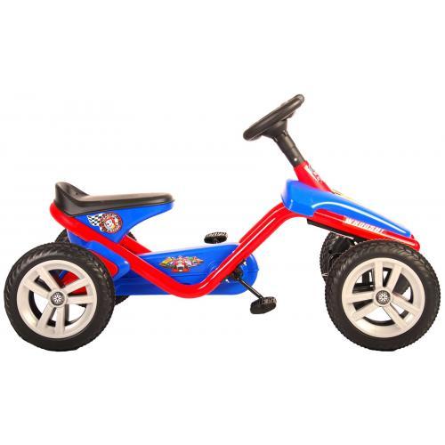 Paw Patrol Go Kart - Mini - Rød Blå