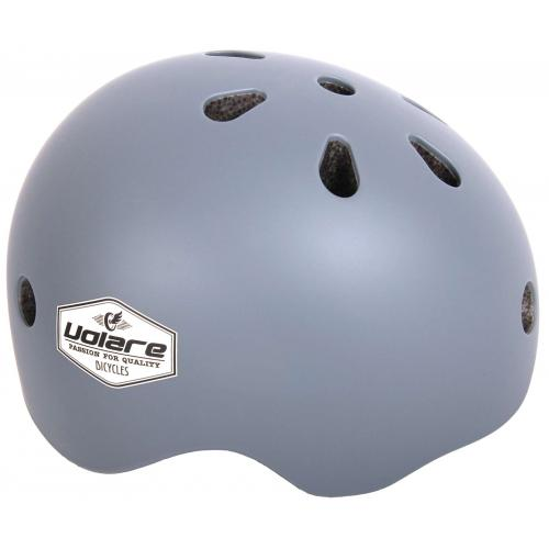 Volare Cykelhjelm - Børn - grå - 45-51 cm