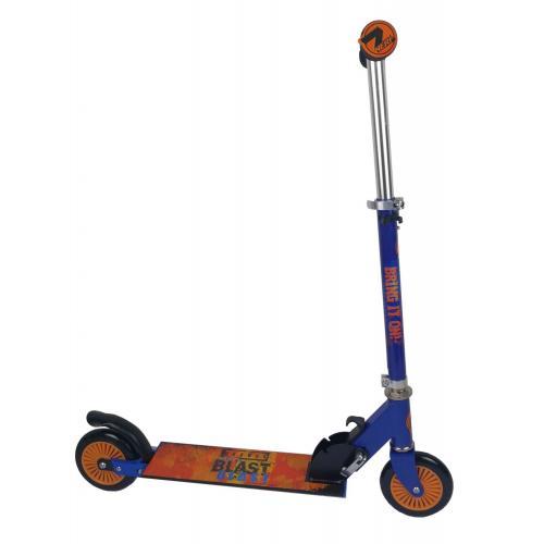 NERF Inline Scooter - Børn - satinblå