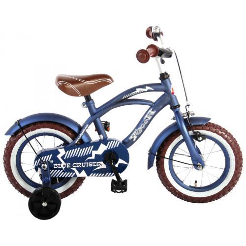 Volare Blue Cruiser Børnecykel - Drenge - 12 tommer - Blå