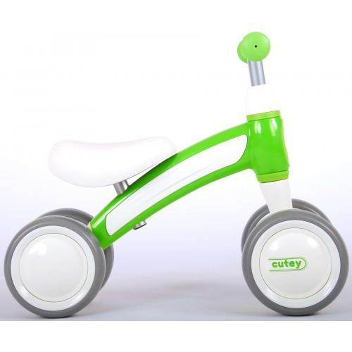 QPlay Cutey Ride On Balance Bike - Drenge og piger - grøn
