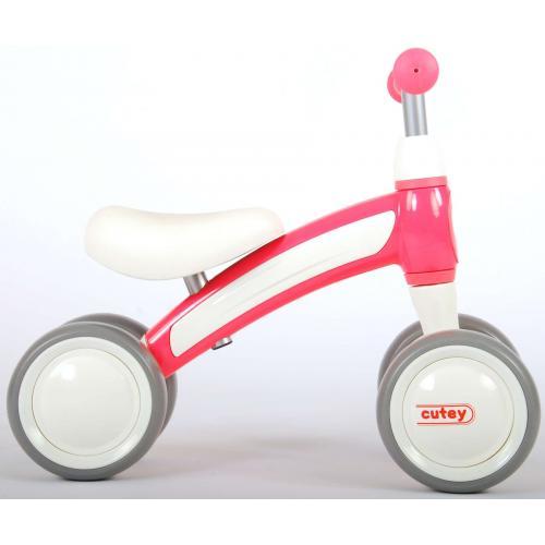 QPlay Cutey Ride On Balance Bike - Drenge og piger - lyserød