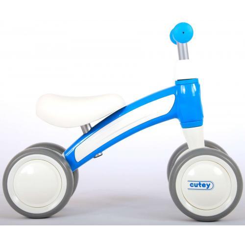 QPlay Cutey Ride On Balance Bike - Drenge og piger - blå