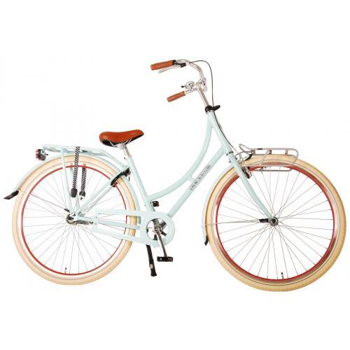 Volare Classic Oma Damecykel - 45 centimeter - Pastelblå