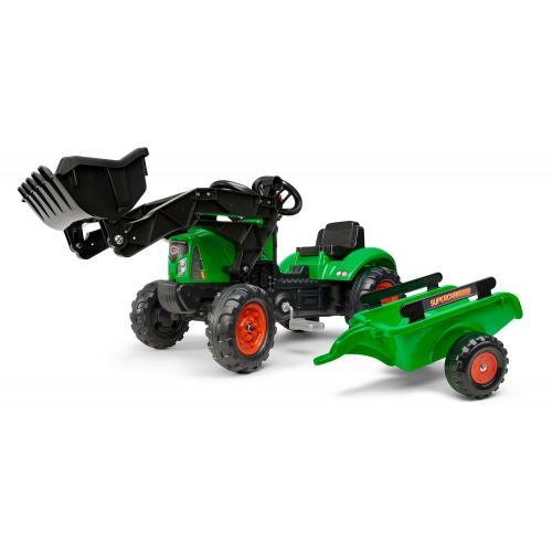 Falk Supercharger - Traktor - Grøn - Fyre