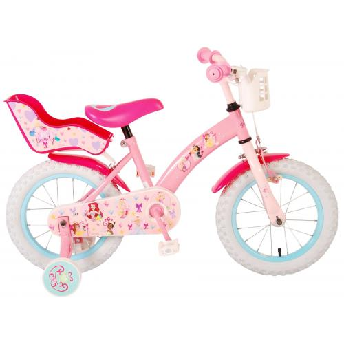 Disney Princess Børnecykel - Piger - 14 tommer - Pink
