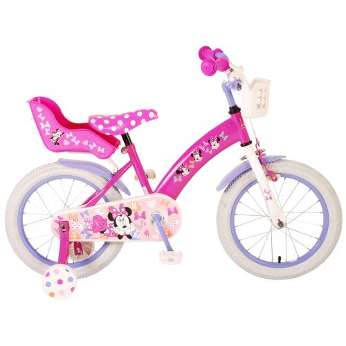 Disney Minnie Bow-Tique Børnecykel - Piger - 16 tommer - Pink