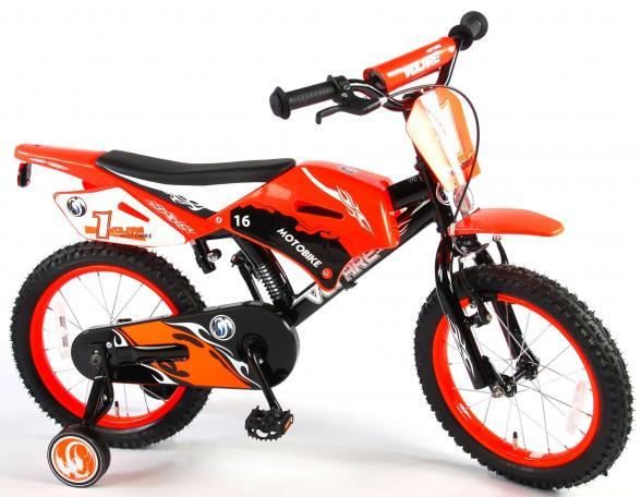 Volare Motobike 16 tommer drengecykel 95% samlet